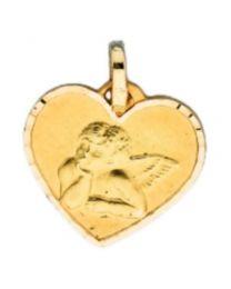 Medaille Coeur Ange Cisele