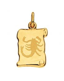 Pendentif Scorpion Parchemin