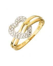 Bague Diamant  0,01 Ct Hp1