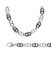 Bracelet / Collier Argent 925 Rhodié Céramique
